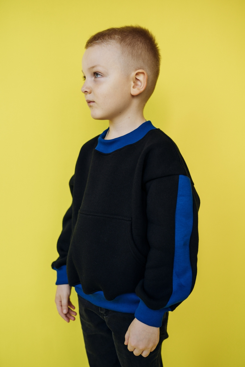 """Толстовка """"свитшот"""" для мальчиков арт. 34001-34002"""