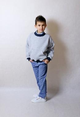 """Толстовка """"свитшот"""" для мальчиков арт. 17005-17006"""