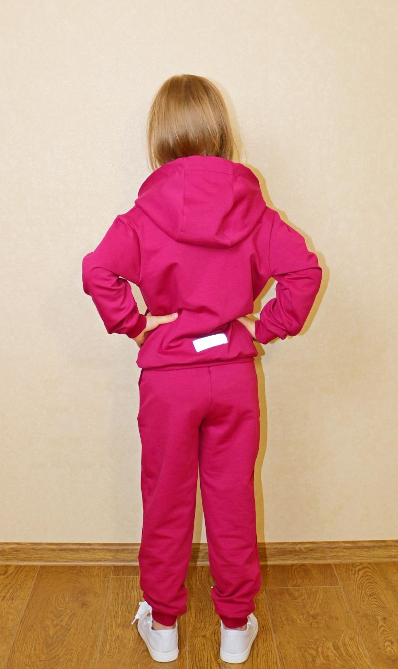Костюм для девочек (толстовка, брюки) арт. 008