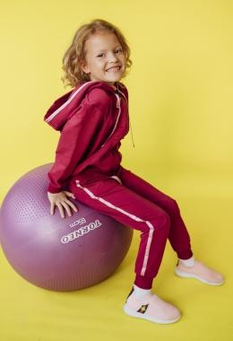 Костюм для девочек (толстовка, брюки) арт. 009