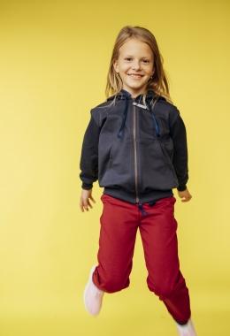 Костюм для девочек (толстовка, брюки) арт. 027